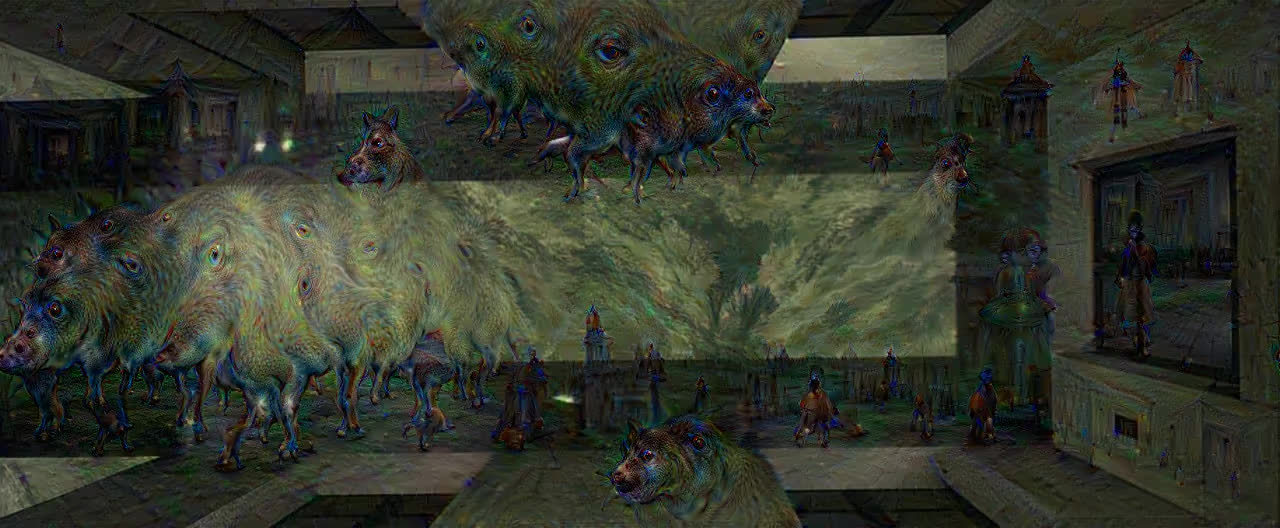 deepdream, matrix, Matrix Lobby Eyes GIFs