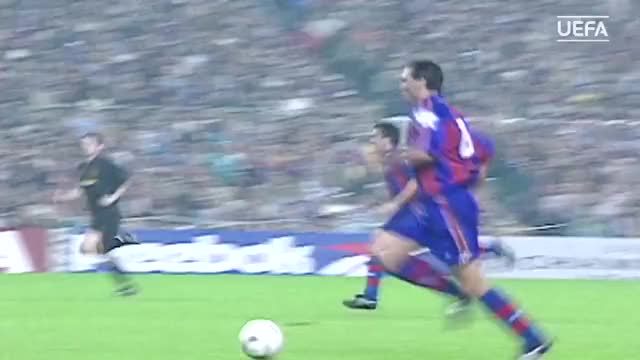 Watch and share STOICHKOV - Barcelona V Man Utd, 1994 GIFs on Gfycat