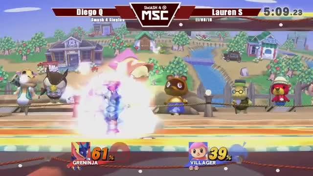 Watch MSC Smash 4 Singles: 11/08/18 GIF on Gfycat. Discover more CStat Smash, Gaming, Smash 4, college station, melee, project m, ssbm, ssbpm, super smash bros, texas GIFs on Gfycat