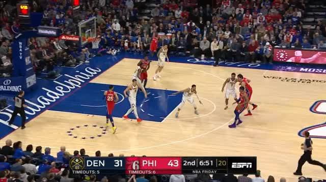 Watch Harris z Murrayem GIF by @prejuce on Gfycat. Discover more Denver Nuggets, Philadelphia 76ers, basketball GIFs on Gfycat