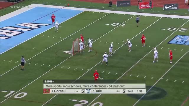 Watch Teat Secondary Dodging vs Yale GIF by Lacrosse Film Room (@laxfilmroom) on Gfycat. Discover more Cornell, Jeff Teat, football, lacrosse GIFs on Gfycat