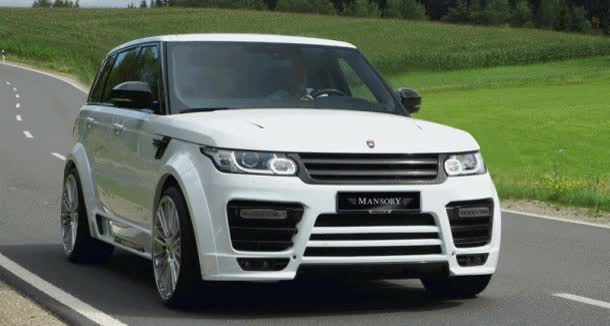 Watch and share MANSORY Range Rover Sport GIFs on Gfycat