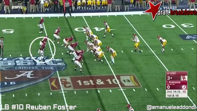 Watch and share Reuben Foster Vs Usc(2016) GIFs on Gfycat