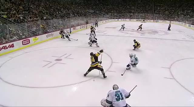 Watch Kuhn Pass 4-2 GIF by The Pensblog (@pensblog) on Gfycat. Discover more Kuhnhackl, Penguins, Rust, Sharks, The Pensblog GIFs on Gfycat