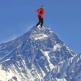 mountain, mountains, nature, Alfonso on Everest GIFs