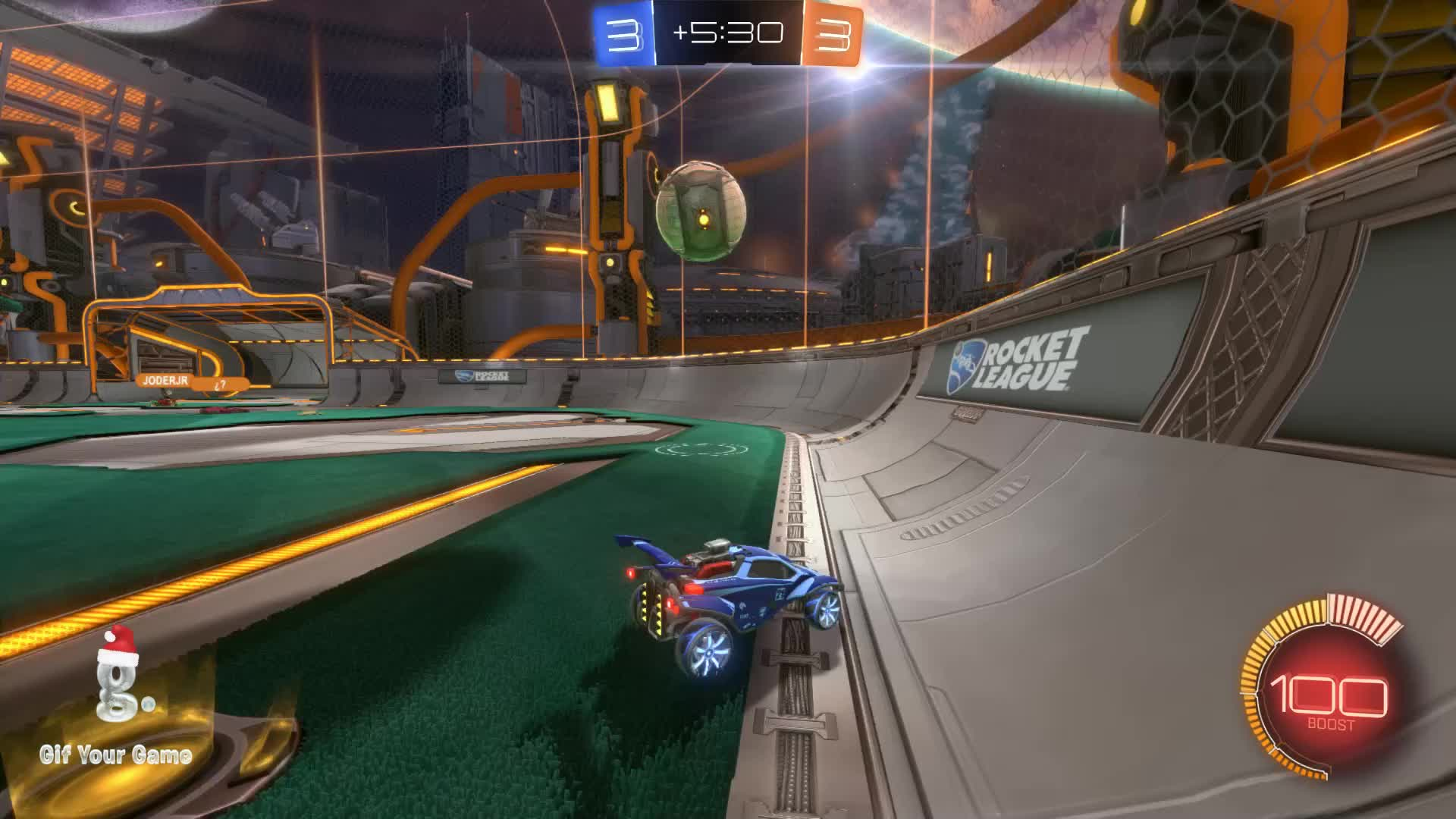 Gif Your Game, GifYourGame, Goal, Rocket League, RocketLeague, beta boy ice poseidon, Goal 7: beta boy ice poseidon GIFs