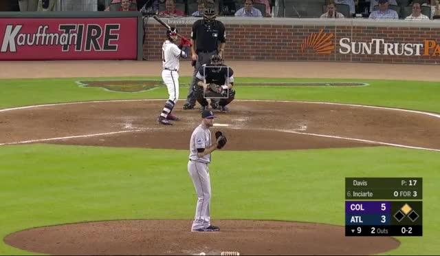 Watch Lee GIF by @caramelphd on Gfycat. Discover more Atlanta Braves, Colorado Rockies, baseball GIFs on Gfycat