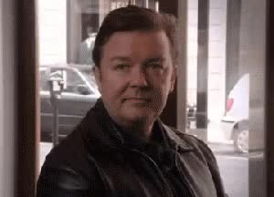 Watch and share Ricky Gervais GIFs and Head Nod GIFs on Gfycat
