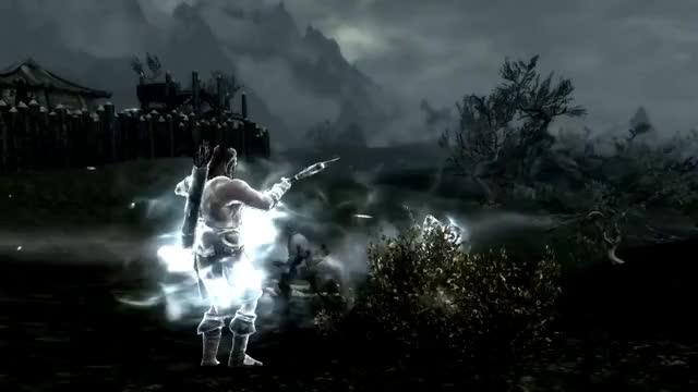 Watch and share Skyrim Battles - OFFICIAL - Tsun Vs The Ebony Warrior [Reloaded][Legendary Settings] GIFs on Gfycat