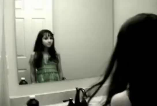 Creepy Grudge Ghost Girl in the Mirror! | Find, Make ...