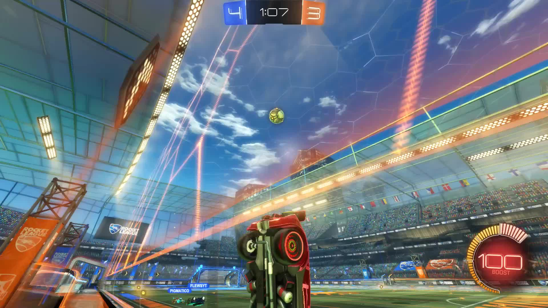Gif Your Game, GifYourGame, Goal, Rocket League, RocketLeague, Sum Ting Wong, Goal 8: Sum Ting Wong GIFs