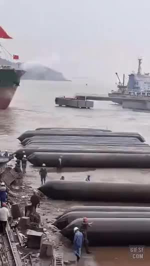 how to land a ship