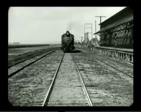Watch and share Front Of Train GIFs and Buster Keaton GIFs on Gfycat