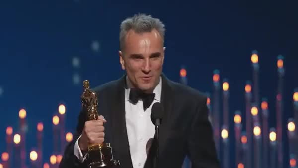 Watch and share Daniel Day Lewis GIFs and Oscars GIFs on Gfycat