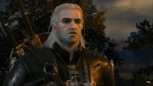 Watch and share Geralt Of Rivia GIFs and The Witcher GIFs by Елена on Gfycat