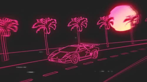 Watch and share Outrun GIFs by Billy Cheng on Gfycat