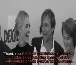 Watch and share Jennifer Carpenter GIFs and Yvonne Strahovski GIFs on Gfycat