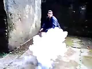 Ninja vanish smoke bomb