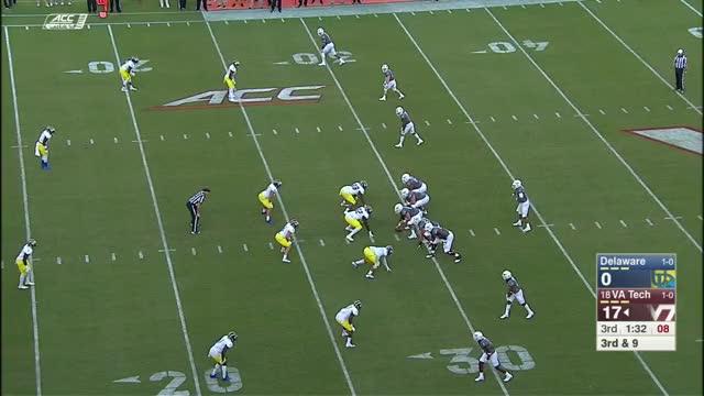 Watch Bilal Nichols sack vs. VT GIF on Gfycat. Discover more 2017, Blue Hens, Delaware, VT, Virginia Tech, football, hokie tapes, hokies, hokietapes GIFs on Gfycat