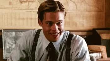 Watch and share Brad Pitt GIFs on Gfycat
