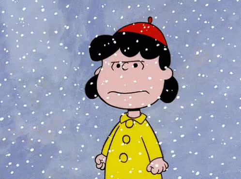 angry, bad, mad, nature, sad, snoopy, snow, snowflakes, snowing, snowman, weather, Let it snow GIFs