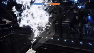 My Titan defended our team's evacuation to her dying breath. Such a sad campaign-style moment. [Titanfall 2] • r/gaming