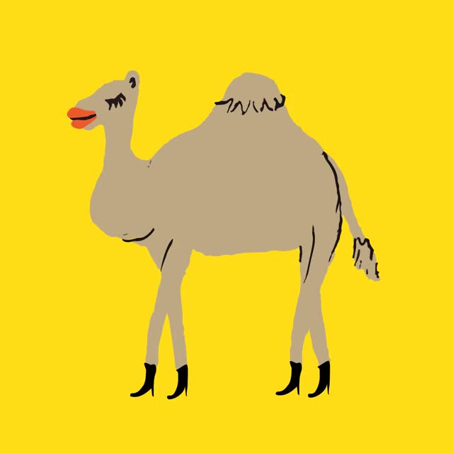 Watch this animal GIF on Gfycat. Discover more animal, animals, camel GIFs on Gfycat