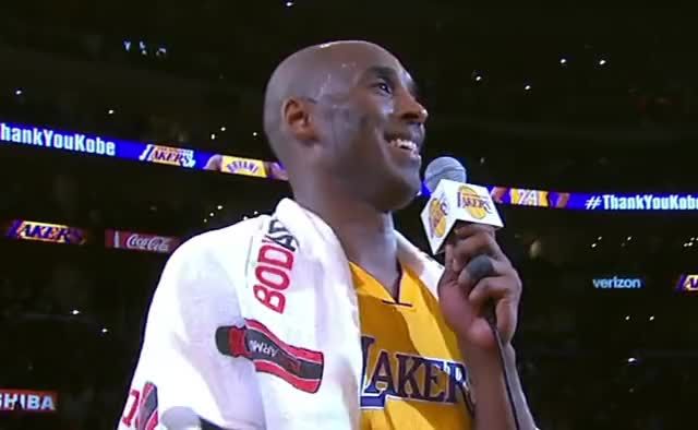 Watch and share Los Angeles Lakers GIFs and Kobe Bryant GIFs by GIF Factory on Gfycat
