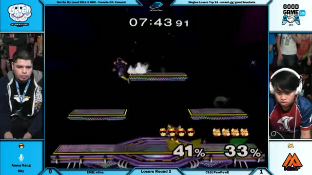 Watch GOML 2016   Singles Top 32   CLG|PewPewU vs EMG|n0ne   Losers Round 2 17th Place GIF on Gfycat. Discover more smashgifs GIFs on Gfycat