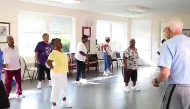 Never to old to exercise! GIFs