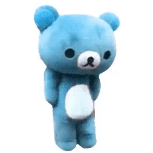 Watch blue bear 1k GIF by @littleburrit0 on Gfycat. Discover more related GIFs on Gfycat