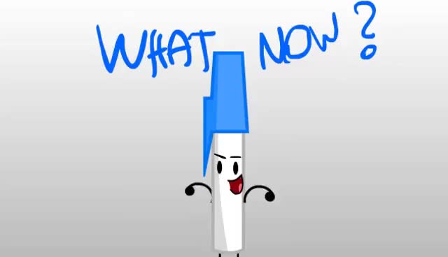 Watch and share WH4T NOW???  (bfdi Version) GIFs on Gfycat
