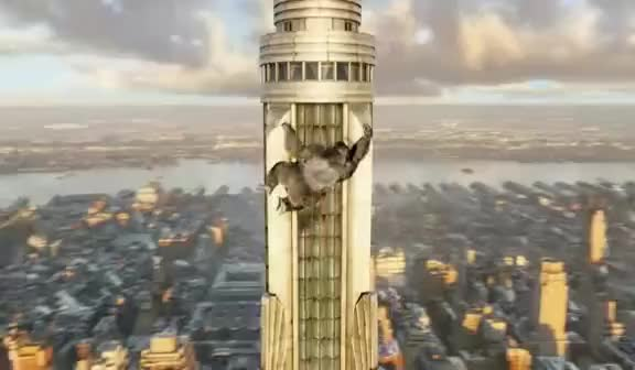 Watch King Kong climb GIF on Gfycat. Discover more empire state building, king kong GIFs on Gfycat