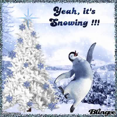 Watch and share YEAH, IT'S SNOWING!!! TOP 13 GIFs on Gfycat