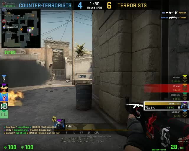 Watch and share Clayton 1v5 GIFs on Gfycat
