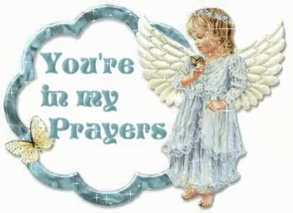 Watch and share Youre In My Prayers Angel Graphic GIFs on Gfycat