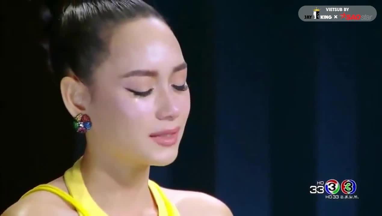 Đây là câu nói của Sky khiến Bee Namthip rơi nước mắt, quyết định chọn cô vào Chung kết thay vì Tia?
