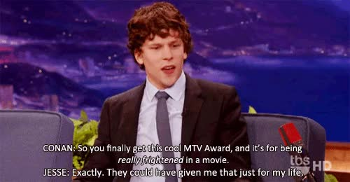 Watch this trending GIF on Gfycat. Discover more jesse eisenberg GIFs on Gfycat