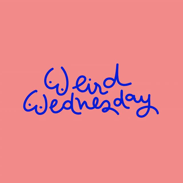 Watch this trending GIF by The GIF Smith (@sannahparker) on Gfycat. Discover more animation, denyse, hump day, typography, wednesday GIFs on Gfycat