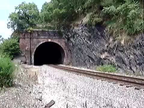 Amtrak 74 & 98 Capitol Limited Point of Rocks Tunnel (reddit