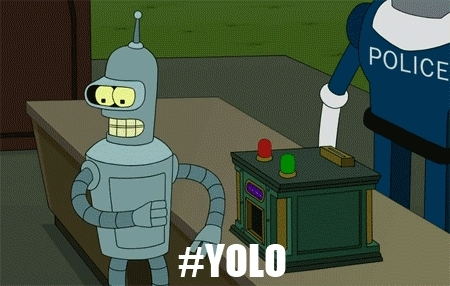 GfycatBot, i regret nothing, yolo, you only live once, YOLO - You Only Live Once GIFs
