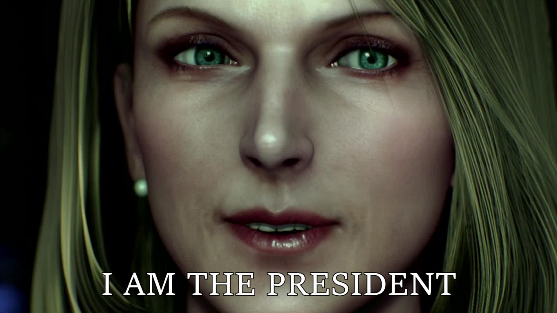 hillary clinton, politics, What Hillary Clinton fantasizes about GIFs