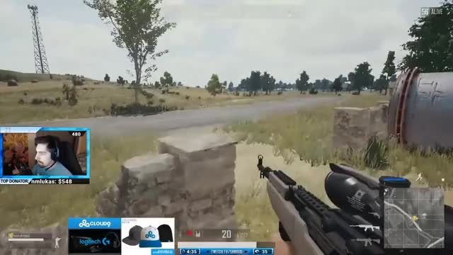 SHROUD TROLLING THE DOC IN PUBG