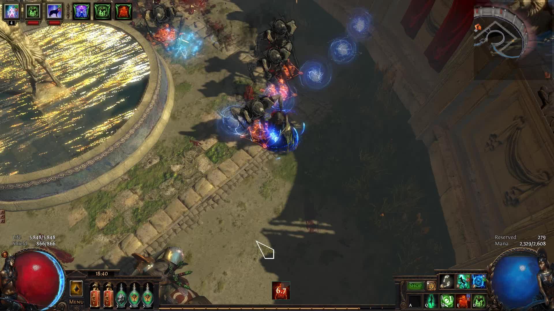 [Harbinger] Deefa_Adsignata lvl90 Necromancer Burning Spectres dies to  bosses