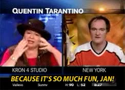 Watch and share Post Quentin Tarantino Because Its GIFs on Gfycat