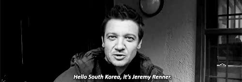 Watch Jeremy's message from the set of the Avengers: AoU   South K GIF on Gfycat. Discover more 1k, 5k, aargh get out, age of ultron, gifs*, jeremy renner, marvelcastedit, renneredit GIFs on Gfycat