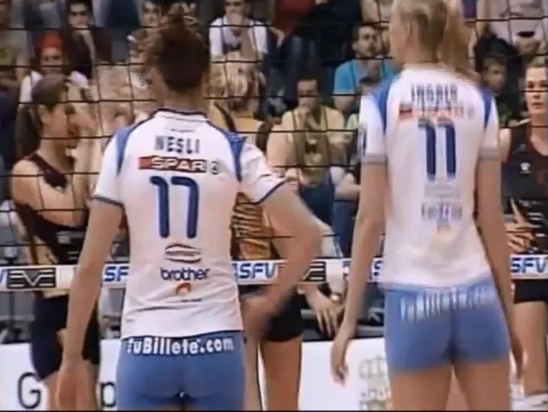 ImagesOfThe2000s, VolleyballGirls, Neslihan Demir @ Tenerife (2007) GIFs