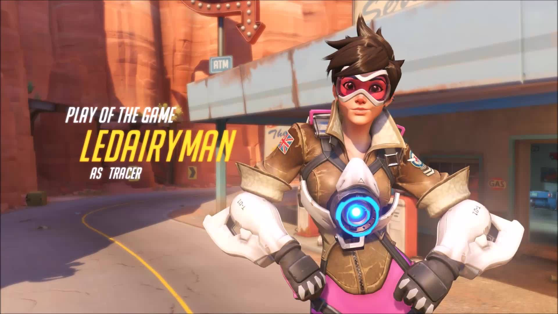 Tracer, overwatch,  GIFs