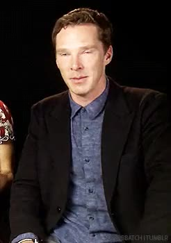 Watch and share Benedict Cumberbatch GIFs and Blue Steel GIFs on Gfycat