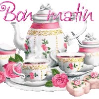 Watch and share Bon Matin animated stickers on Gfycat